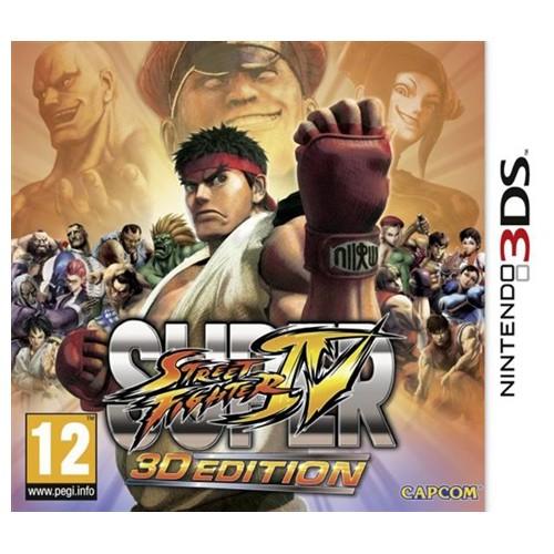 Super Street Fighter IV 3D Edition USADO Nintendo 3DS