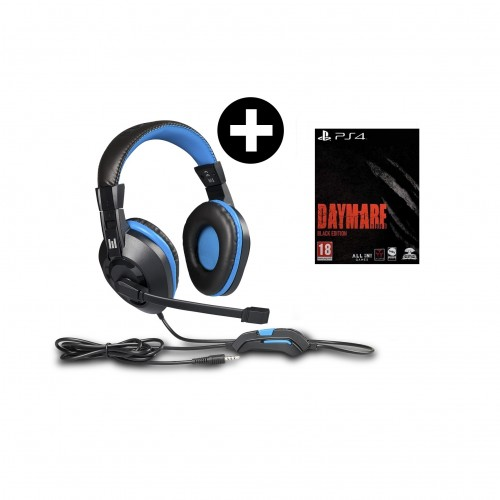 Headset Indeca + Daymare 1998 Black Edition PS4