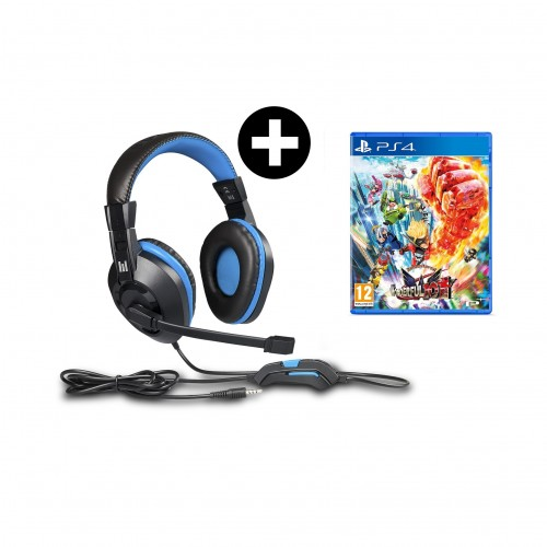 Headset Indeca + The Wonderful 101 Remastered PS4
