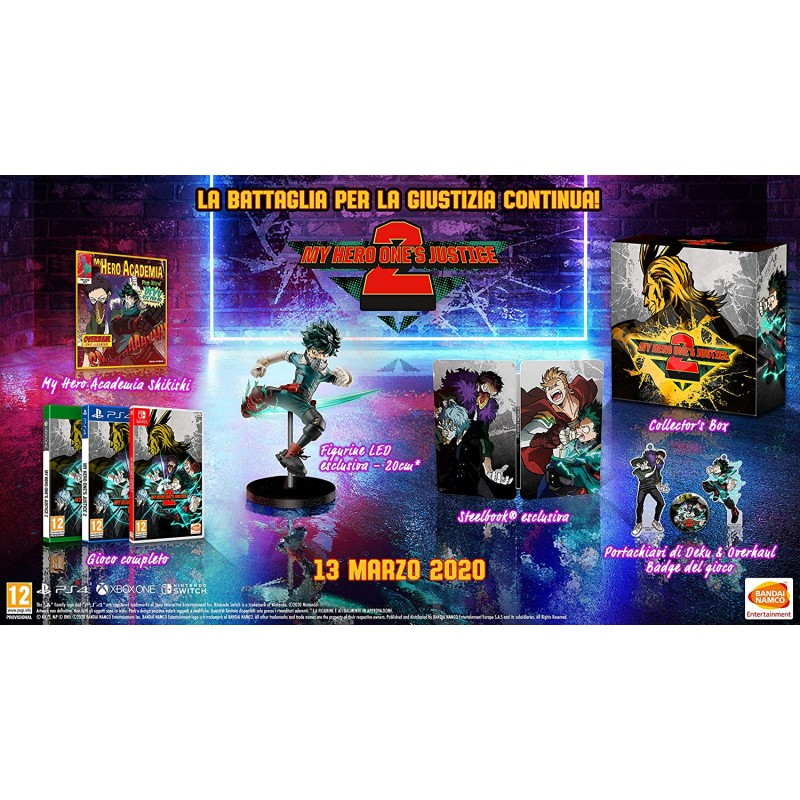 My Hero One's Justice 2 Collectors Edition PS4