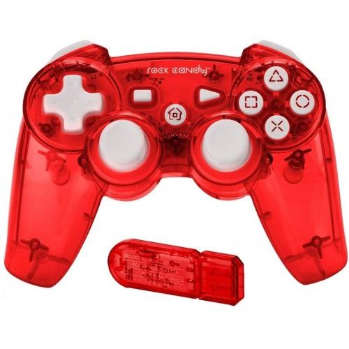 Comando PDP Wireless Rock Candy Vermelho PS3
