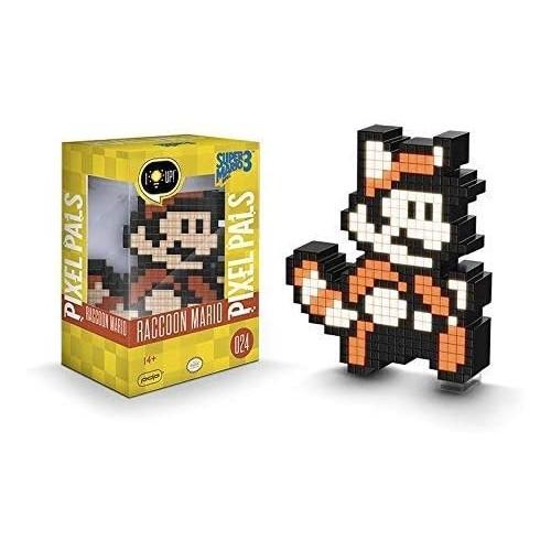 Pixel Pals Nintendo Raccoon Mario 024