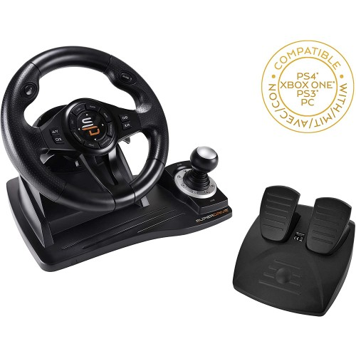 Volante SuperDrive Racing Wheel GS500 PS4 & Xbox One & PC & Nintendo Switch