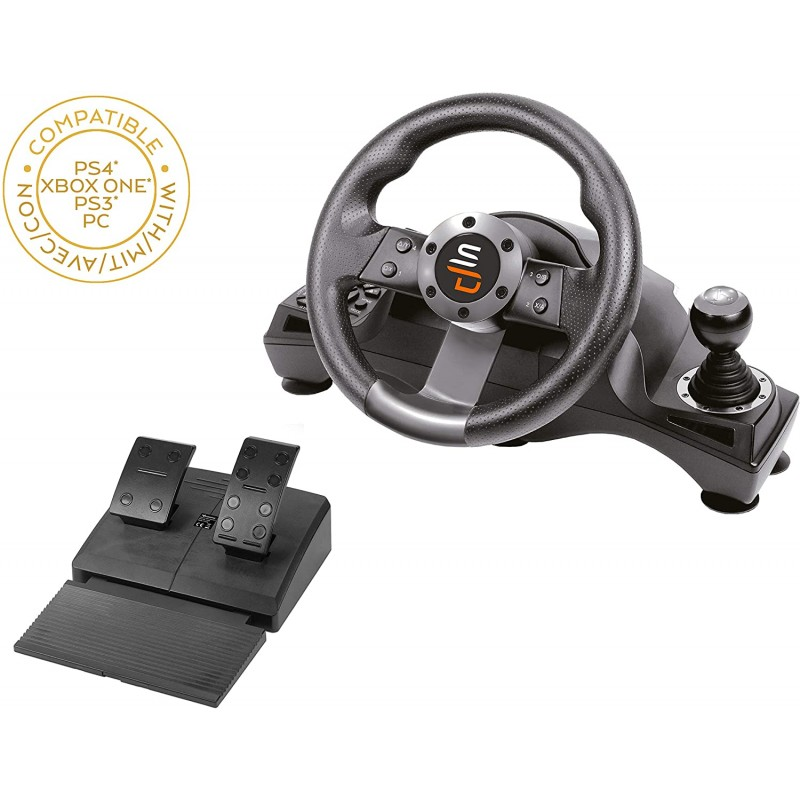 Volante SuperDrive Racing Wheel GS700 PS4 & Xbox One & PC & Nintendo Switch