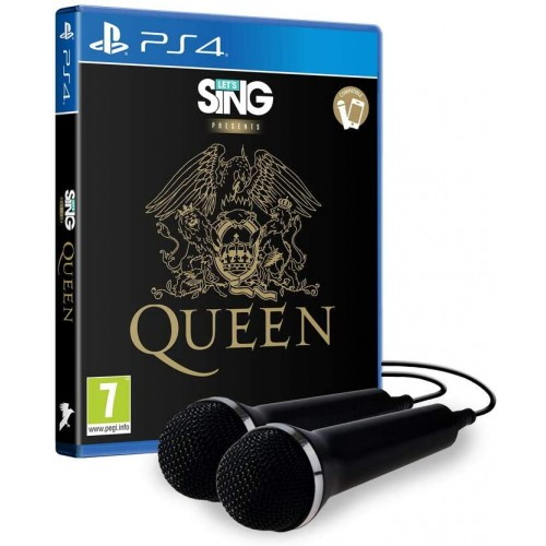 Let's Sing Queen + 2 Micros PS4