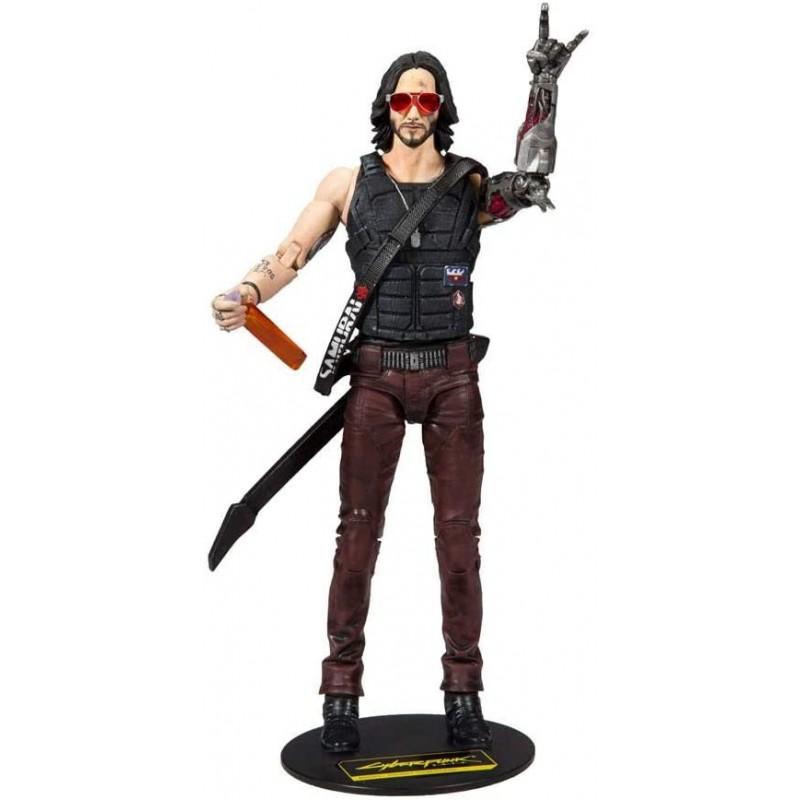 Figura articulada Cyberpunk 2077 Johnny 18cm