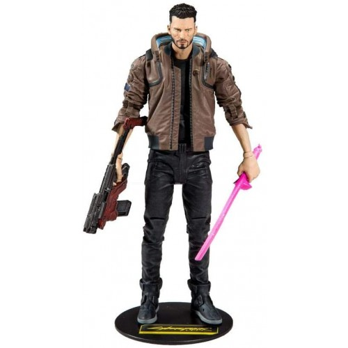 Figura articulada Cyberpunk 2077 V Male 18cm