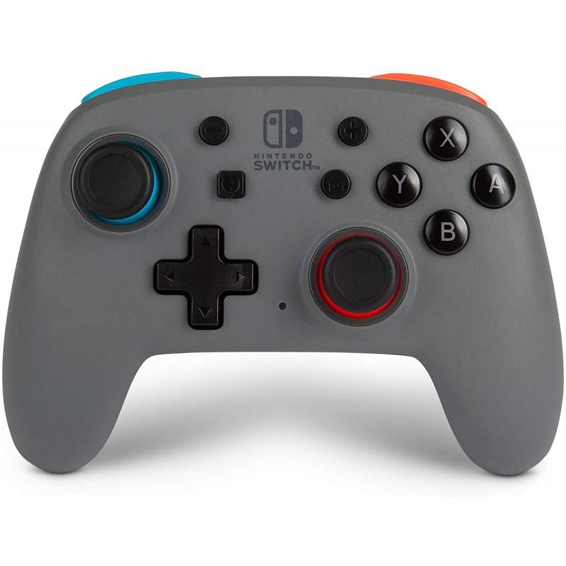 Comando PowerA Nano Grey-Neon (sem fios) Nintendo Switch