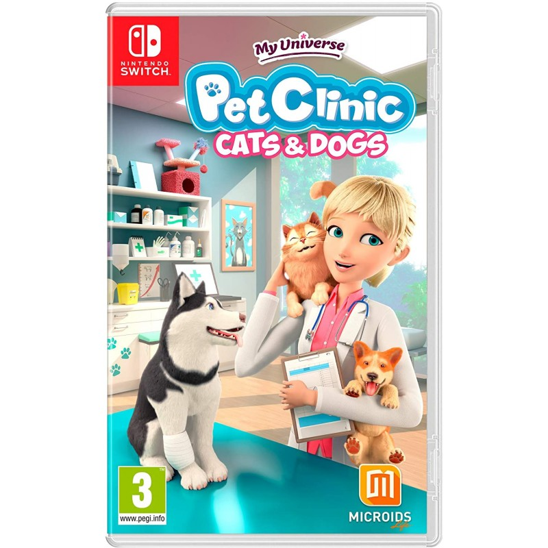 My Universe Pet Clinic Cats & Dogs Nintendo Switch