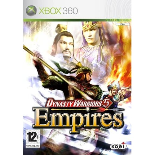 Dynasty Warriors 5 Empires USADO Xbox 360
