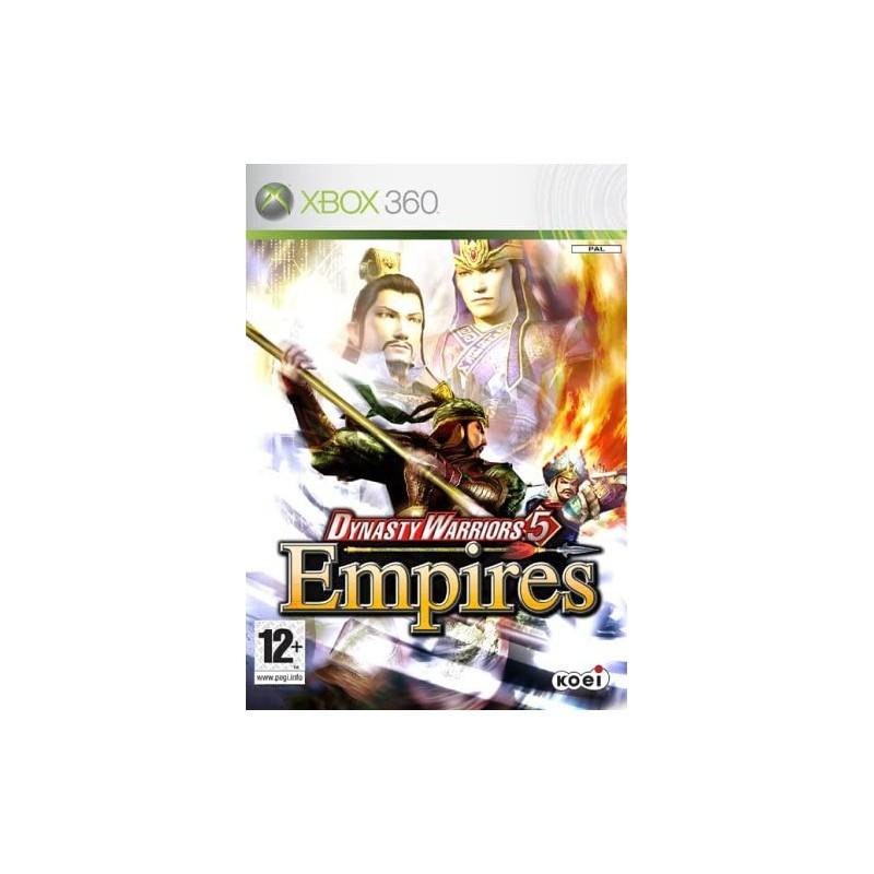 Dynasty Warriors 5 Empires Xbox 360