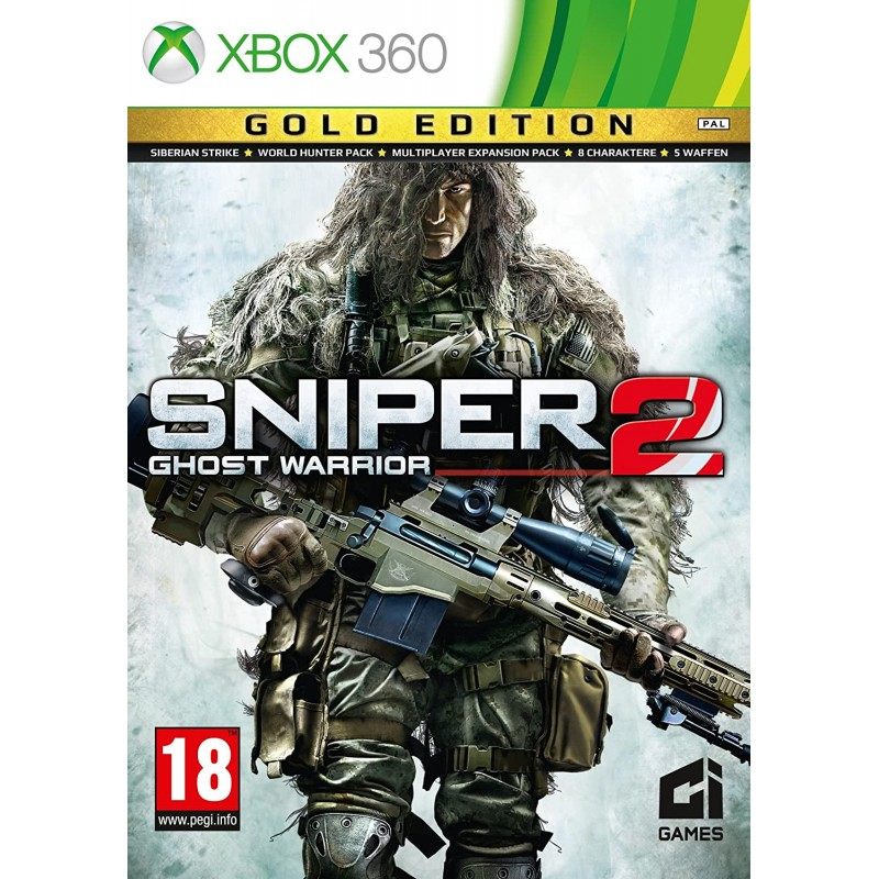 Sniper 2 Ghost Warrior Gold Edition Xbox 360