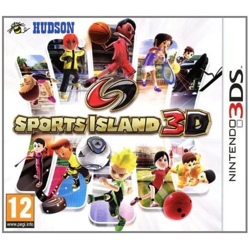 Sports Island 3D USADO Nintendo 3DS