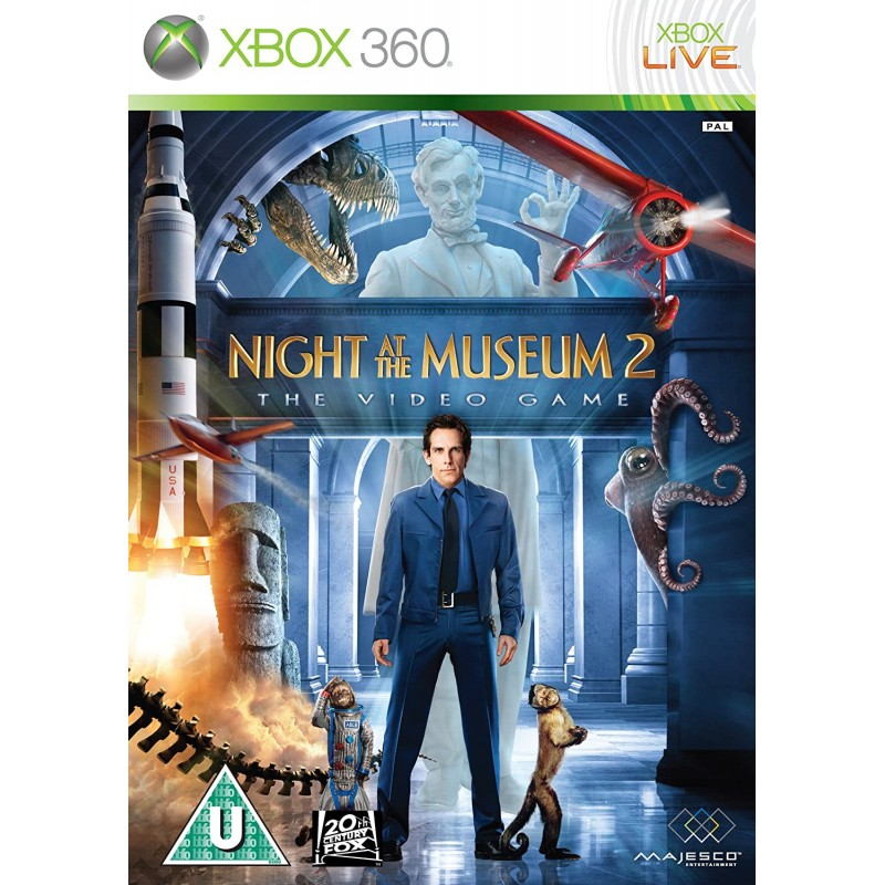 Night at the Museum 2 The Video Game Xbox 360