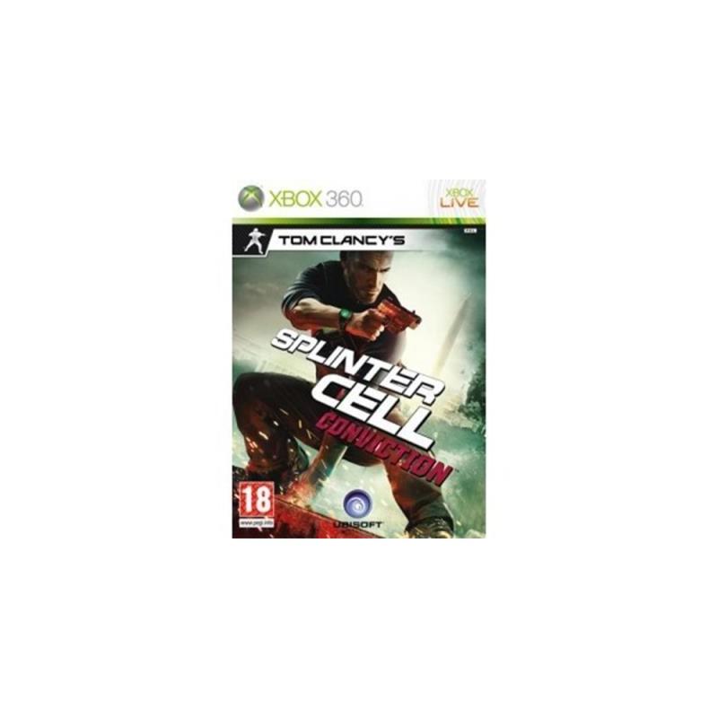 Splinter Cell Conviction USADO Xbox 360