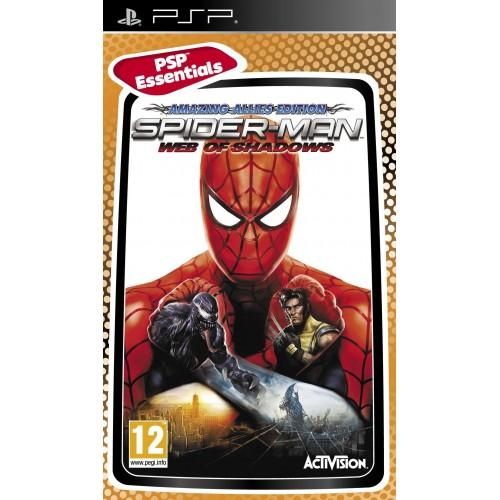 Spider Man Web of Shadows USADO PSP