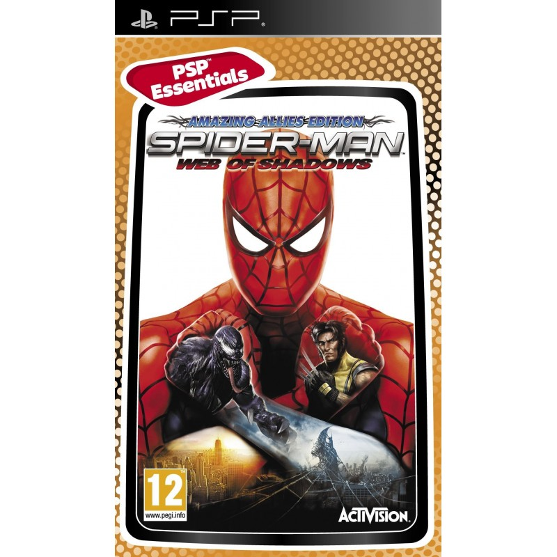 Spider Man Web of Shadows PSP