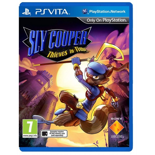 Sly Cooper Thieves in Time PSVita