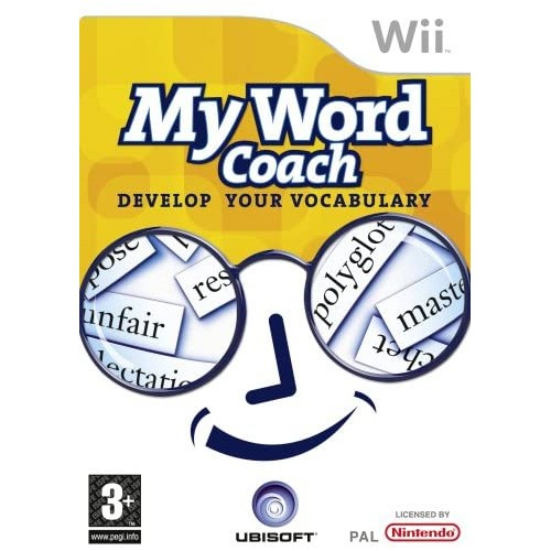 My Word Coach Develop Your Vocabulary Wii