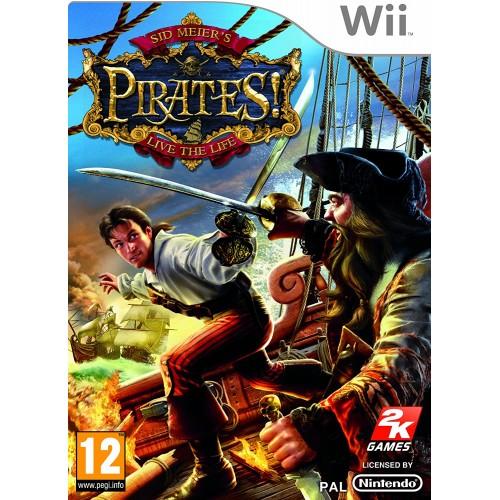 Sid Meier's Pirates USADO Wii