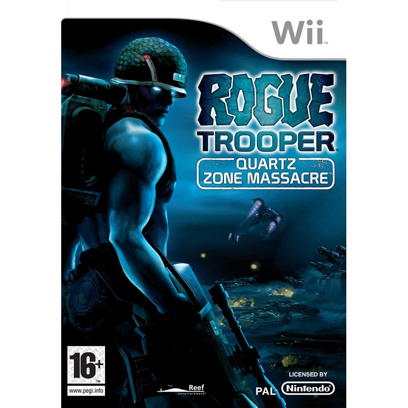 Rogue Trooper Quartz Zone Massacre Wii