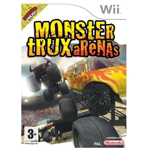 Monster Trux Arenas USADO Wii