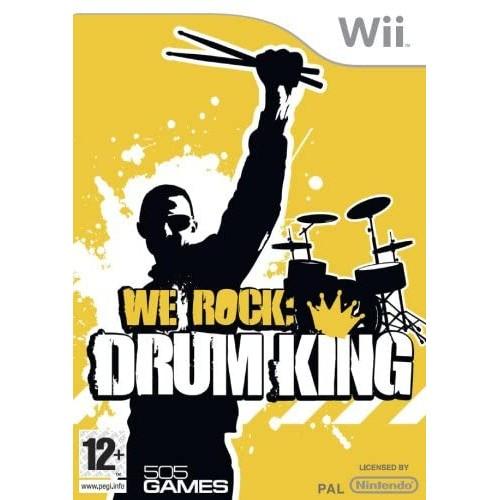 We Rock Drum King USADO Wii