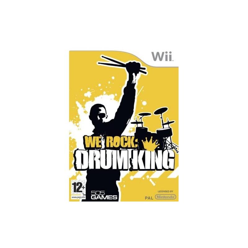 We Rock Drum King Wii