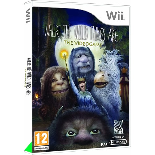 Where the Wild Things Are USADO Wii