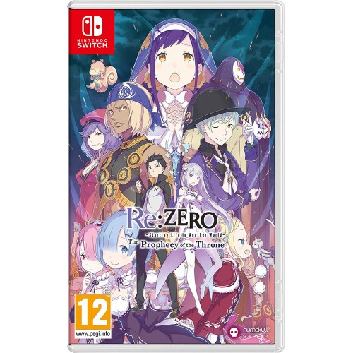 Re:Zero The Prophecy of the Throne Nintendo Switch