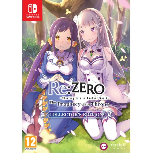 Re:Zero The Prophecy of the Throne CE Nintendo Switch