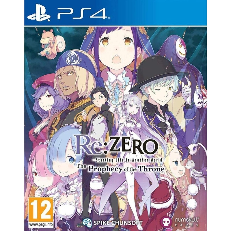 Re:Zero The Prophecy of the Throne PS4