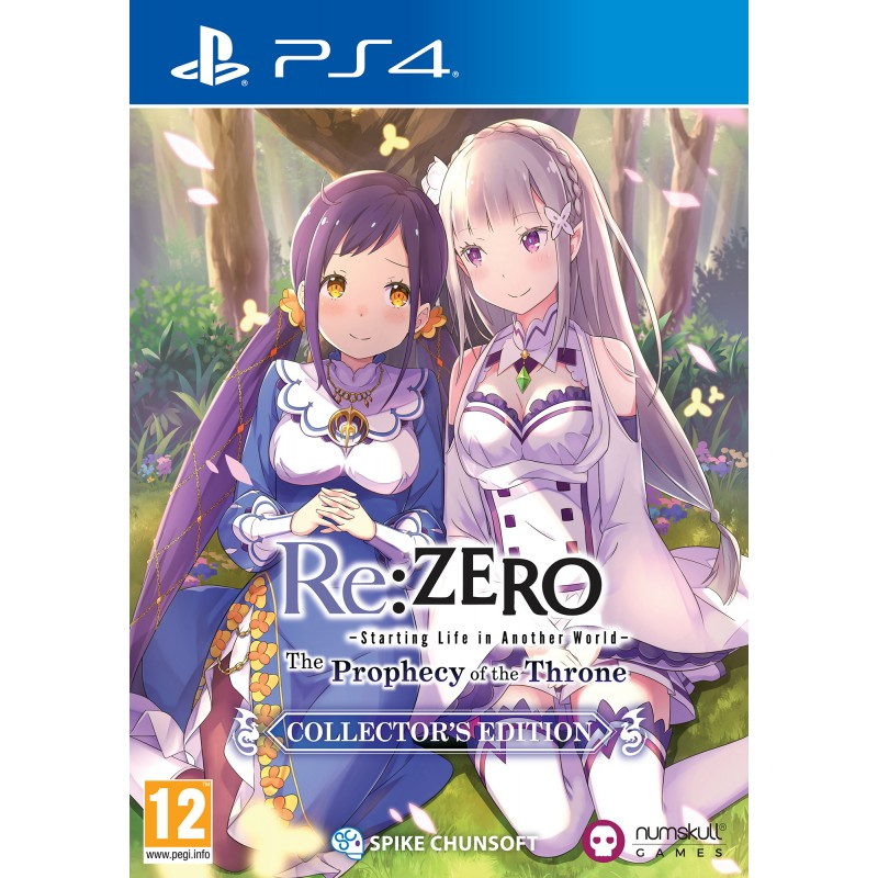 Re:Zero The Prophecy of the Throne CE PS4