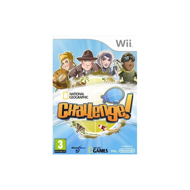 National Geographic Challenge! Wii