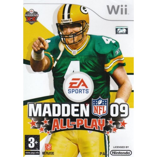 Madden NFL 09 USADO Wii