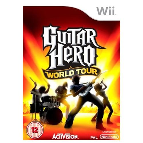 Guitar Hero World Tour USADO Wii