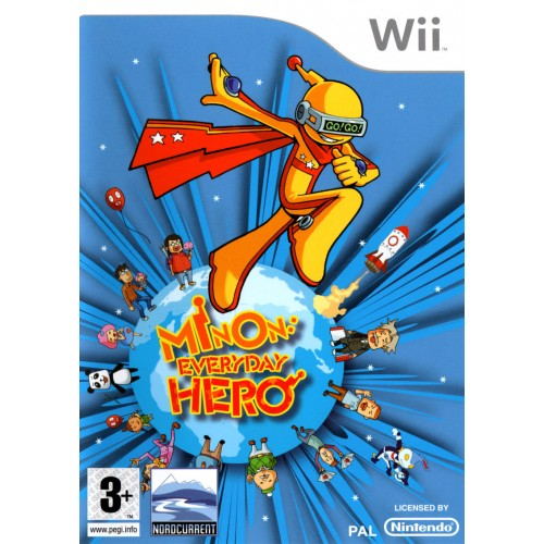 Minon Everyday Hero USADO Wii