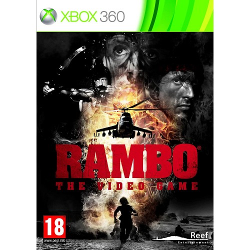Rambo The Videogame Xbox 360