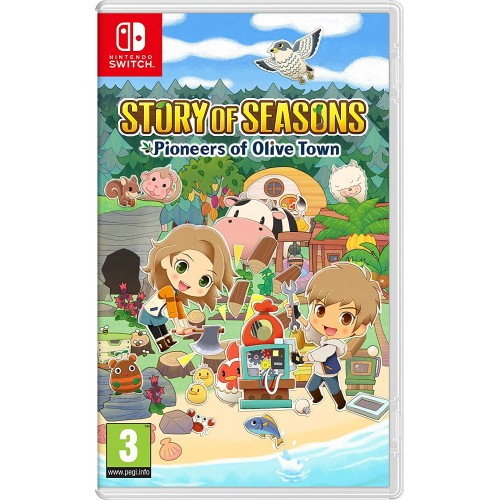 Story of Seasons Pioneers of Olive Town Nintendo Switch