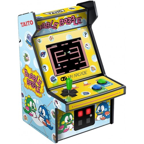 Consola Retro Arcade Micro Player Bubble Bobble