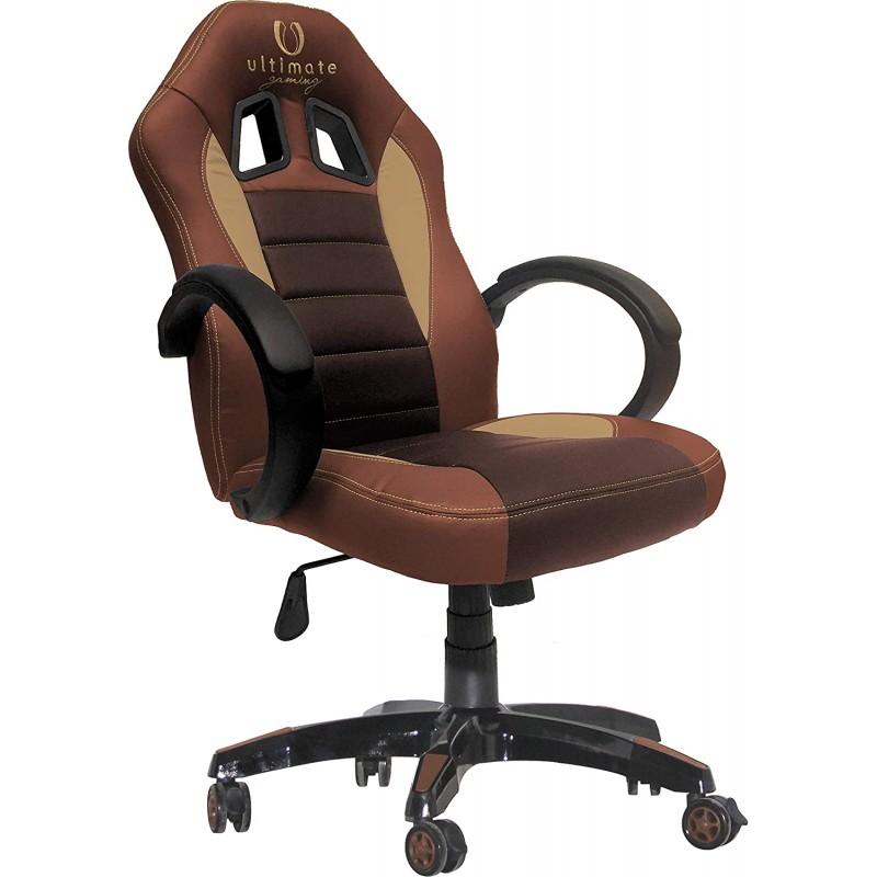 Cadeira Ultimate Gaming Taurus Castanha