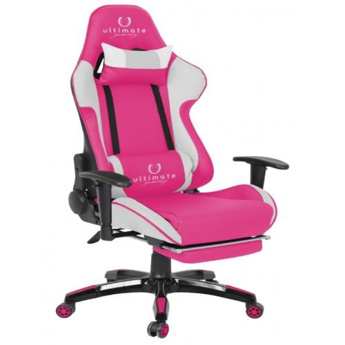 Cadeira Ultimate Gaming Orion Cor de Rosa