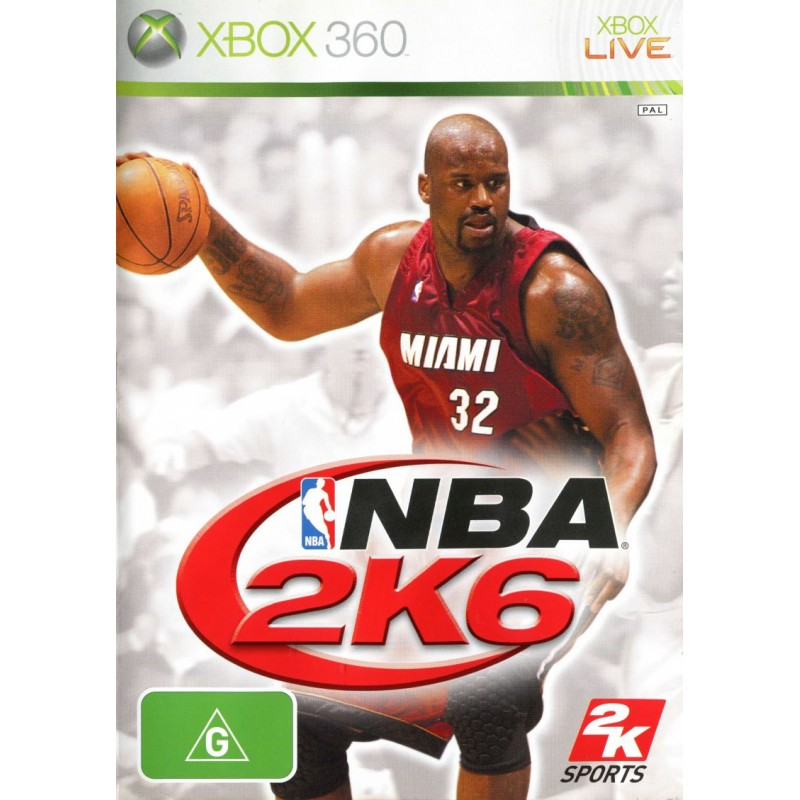 NBA 2K6 Xbox 360