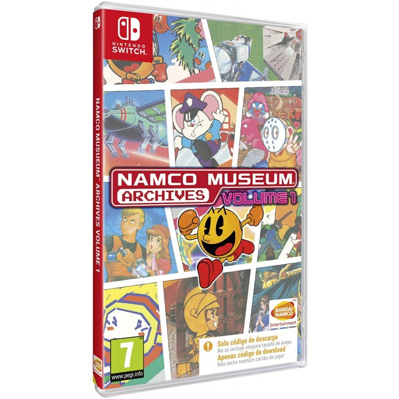 Namco Museum Archives Volume 1 (codigo na caixa) Nintendo Switch