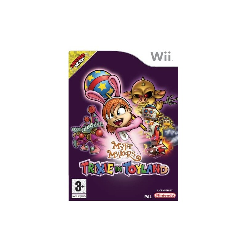 Myth Makers Trixie in Toyland Wii