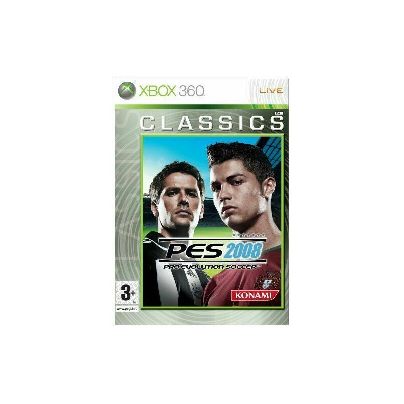 Pro Evolution Soccer 2008 PES Xbox 360