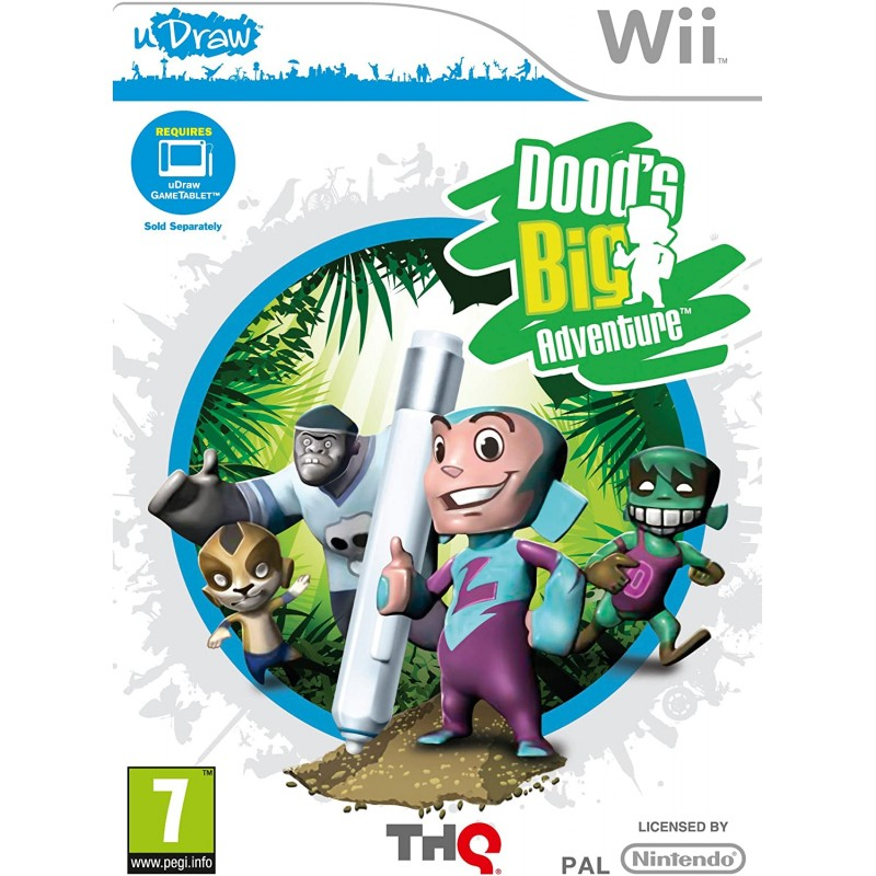 Dood's Big Adventure (Udraw) Wii