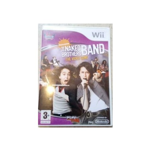The Naked Brothers Band The Video Game Wii