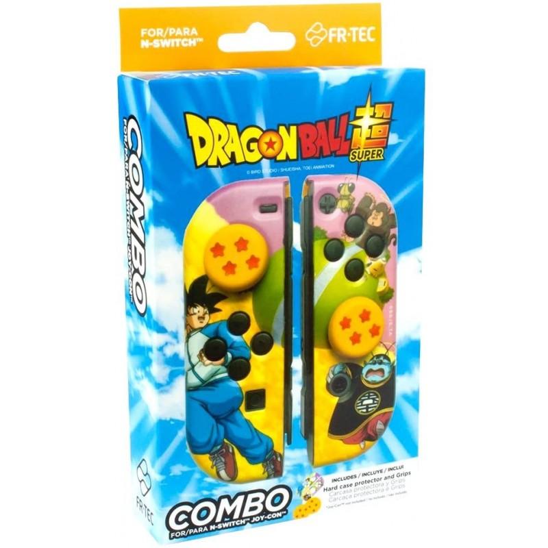 Proteção Rígida para Joy-Con + Grips FR-TEC Dragon Ball Super Nintendo Switch