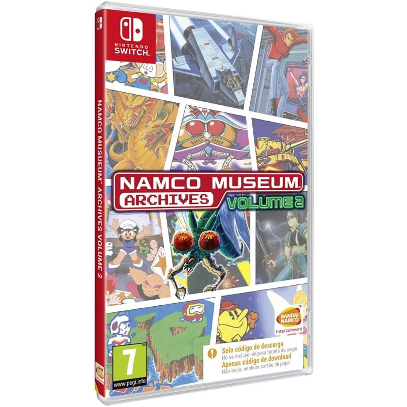 Namco Museum Archives Volume 2 (codigo na caixa) Nintendo Switch